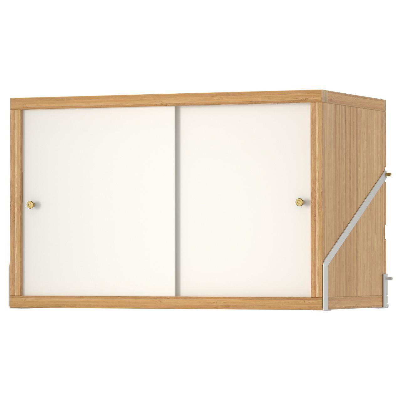 IKEA SVALNAS (003.228.97) Книжный шкаф/2 двери