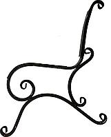Боковина для лавки садовой Стандарт