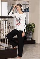 Женская пижама Shirly 5851, костюм домашний с повязкой на глаза для сна, фото 1