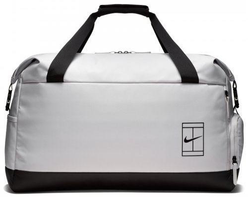 af83ac883447 Мужская спортивная сумка Nike NKCRT ADVANTAGE DUFF BA5451-012, на 80 л белый