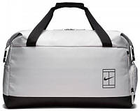 a65be48f Мужская спортивная сумка Nike NKCRT ADVANTAGE DUFF BA5451-012, на 80 л белый
