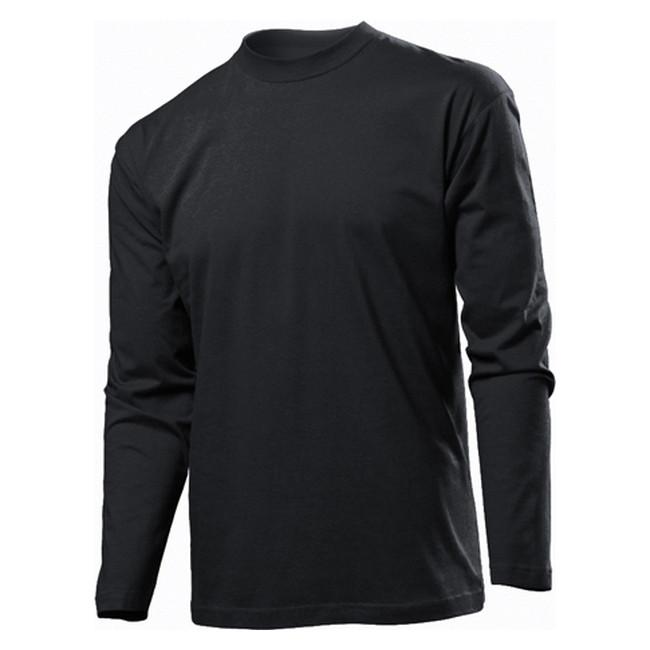 Футболка 'Stedman' 'Classic Long Sleeve Men' Black Opal