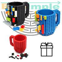 Кружка-конструктор Lego брендовая 350мл