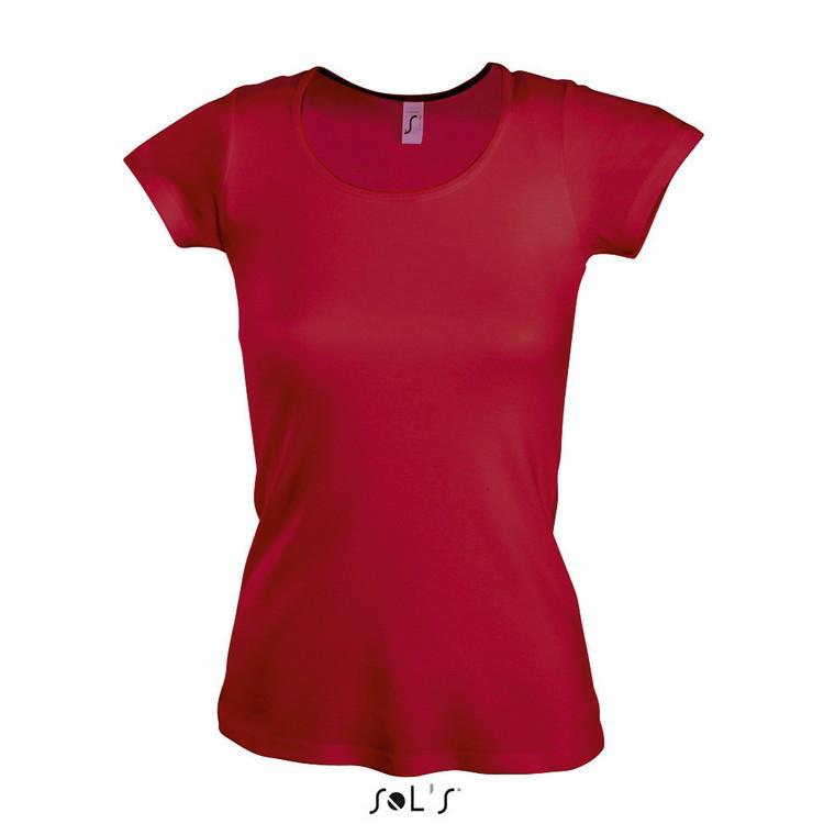 Женская футболка к круглым воротом SOL'S MOODY