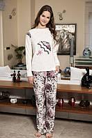 Женская пижама Shirly 5848, костюм домашний с повязкой на глаза для сна, фото 1