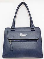 Недорогая сумка стройная, цвет темно-синий, фото 1