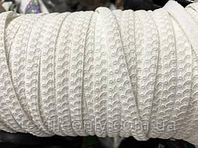 Бретель для белья белая 8 мм