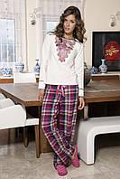 Женская пижама Shirly 5847, костюм домашний с повязкой на глаза для сна, фото 1