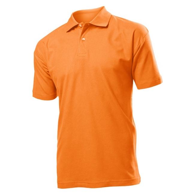 Футболка Поло 'Stedman' 'Polo Men' Orange
