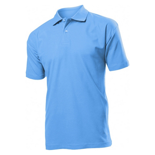 Футболка Поло 'Stedman' 'Polo Men' Light Blue