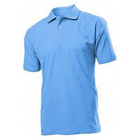 Футболка Поло 'Stedman' 'Polo Men' Light Blue