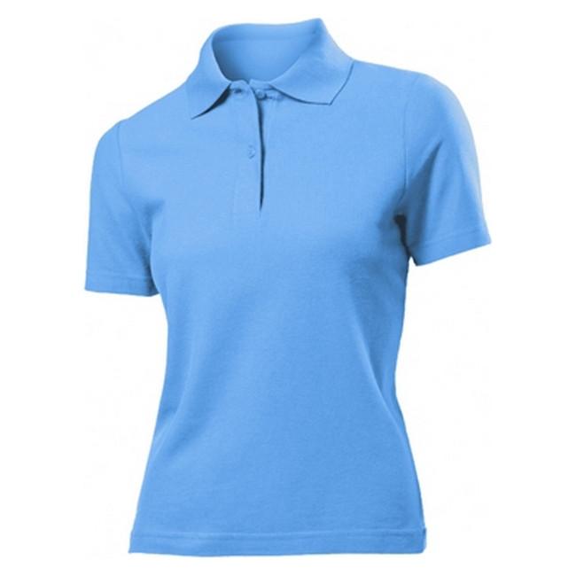 Футболка Поло 'Stedman' 'Polo Women' Light Blue