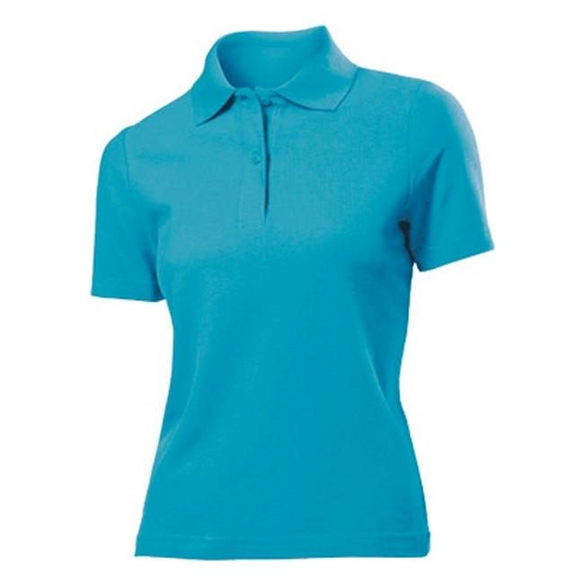 Футболка Поло 'Stedman' 'Polo Women' Ocean Blue