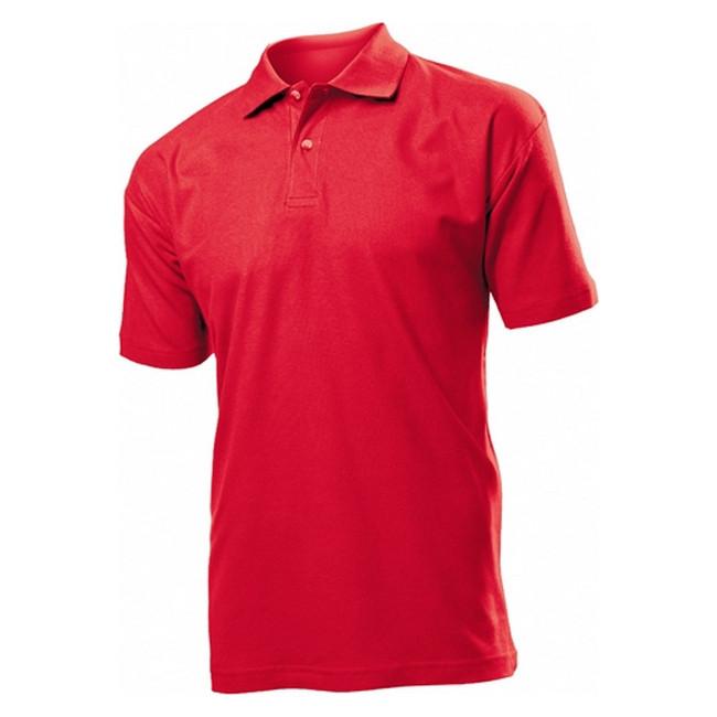 Футболка Поло 'Stedman' 'Polo Men' Scarlet Red