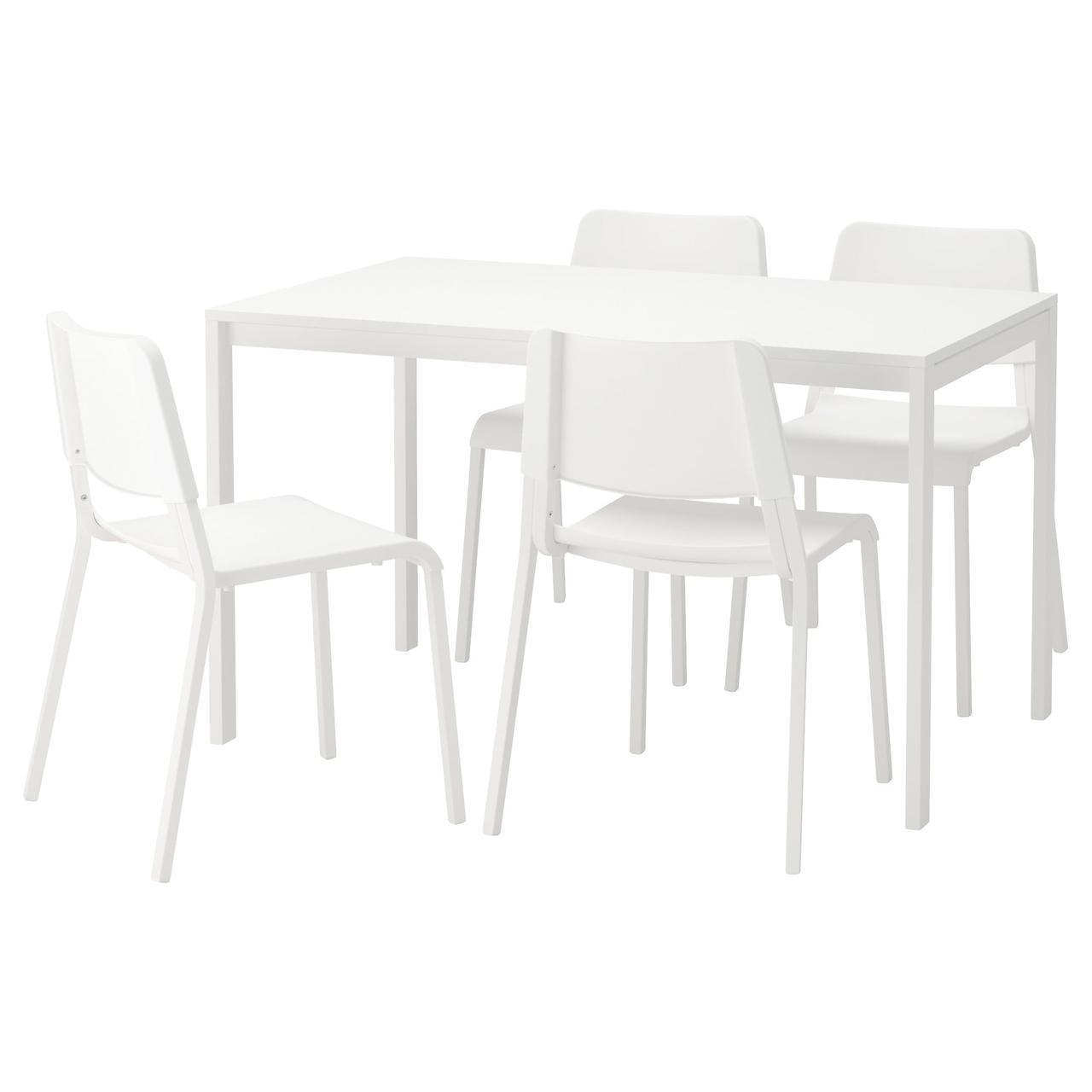 IKEA MELLTORP / TEODORES (292.212.56) Стол и 4 стула