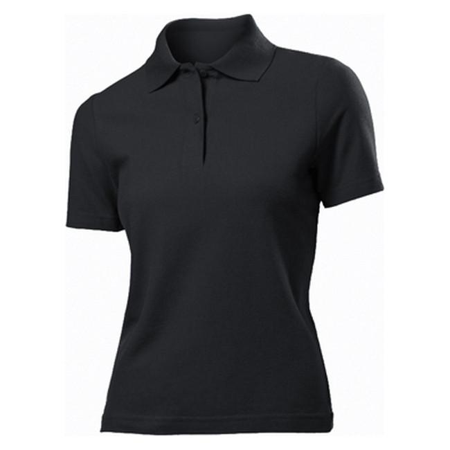 Футболка Поло 'Stedman' 'Polo Women' Black Opal