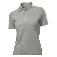Футболка Поло 'Stedman' 'Polo Women' Grey Heather