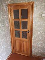 Межкомнатные двери со стеклом наличники коробка 2