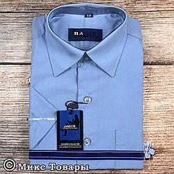 Подростковая рубашка Короткий рукав (Ворот: 28- 36) vr8-3