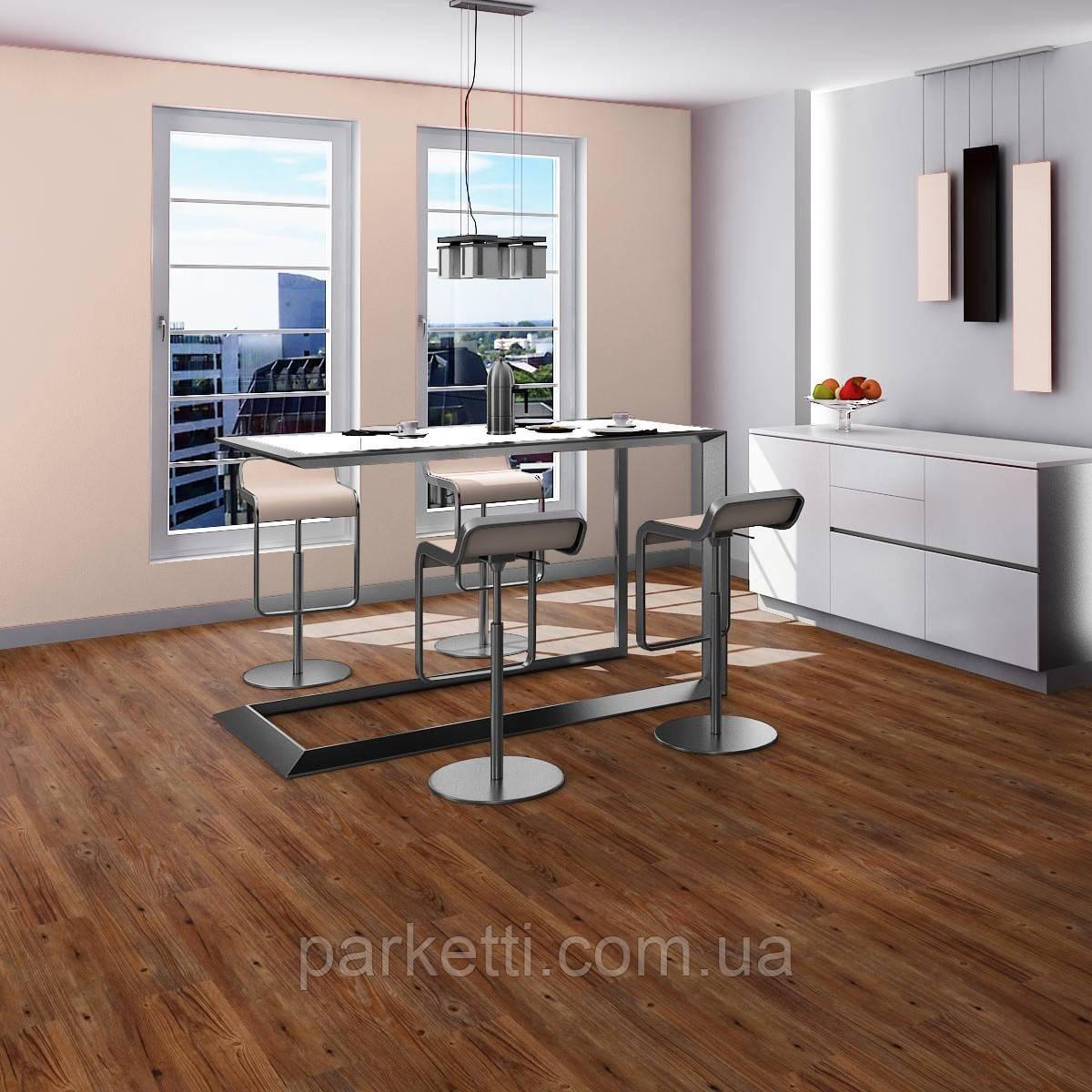 Fatra 10205-1 Thermofix Wood Каштан (Chestnut) виниловая плитка, 2.0 мм, фото 1