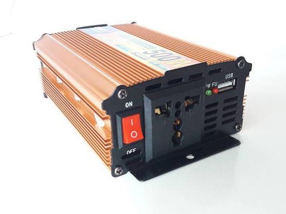 Преобразователь 500W Инвертор с 12в на 220в, фото 2