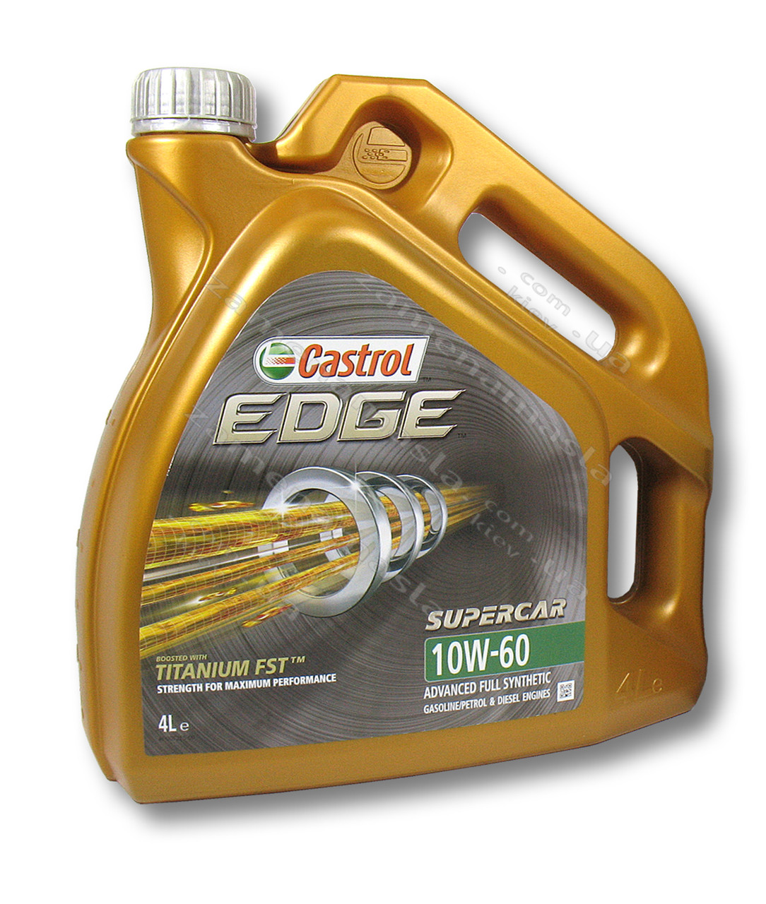 Castrol EDGE Titanium FST SUPERCAR 10W-60 4л - моторное масло
