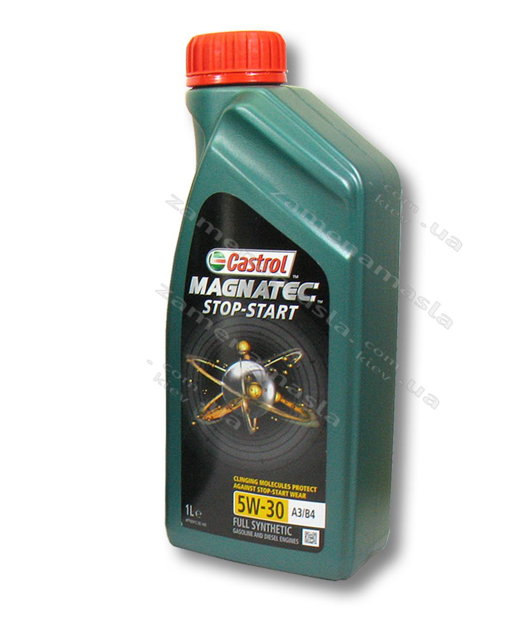 Castrol MAGNATEC STOP-START 5W-30 A3/B4 1л - моторное масло