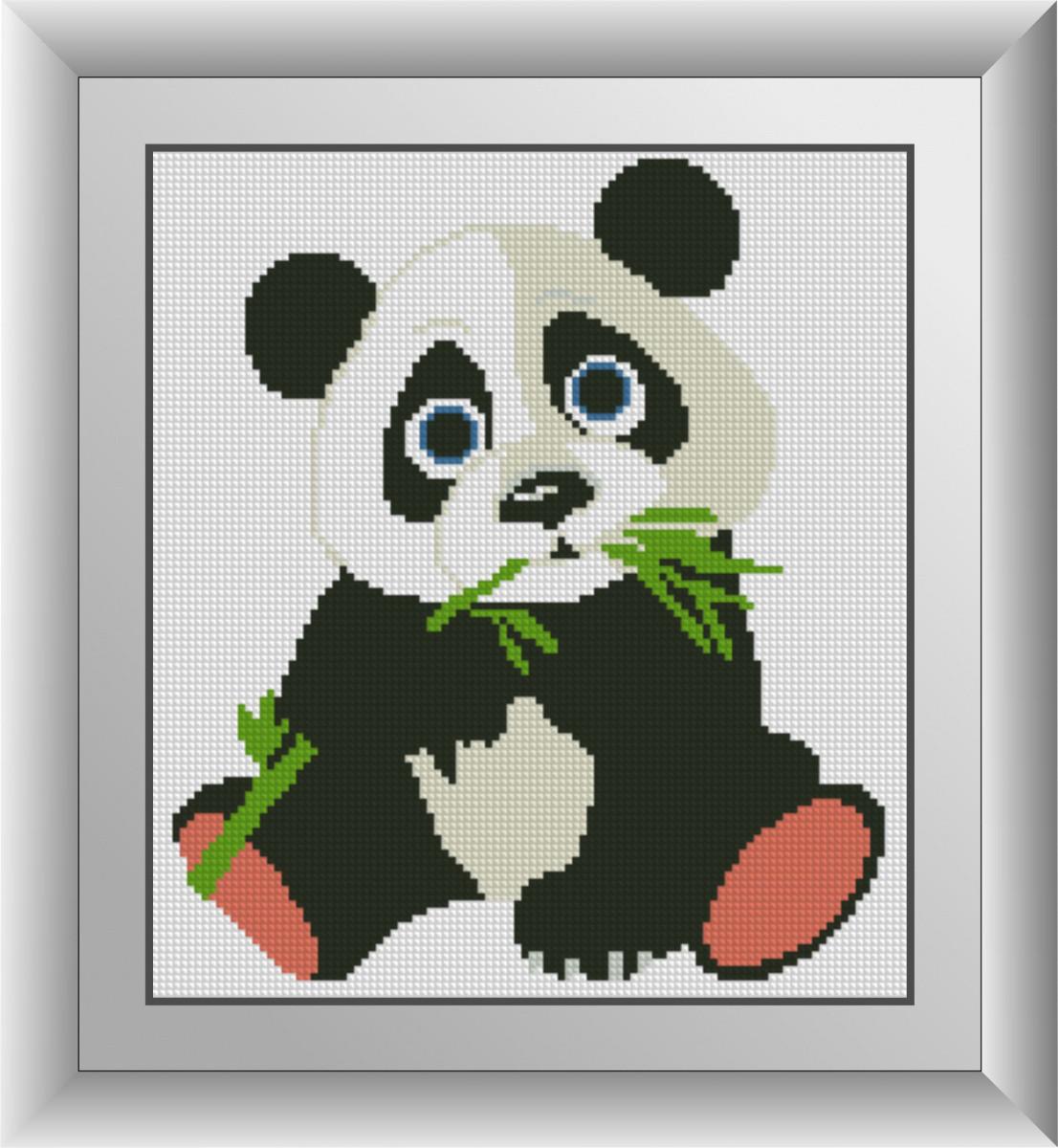 """Алмазная живопись набор R29х26 """"Панда"""""""