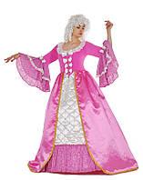 """Карнавальный костюм """"Барокко"""" розовый для взрослых"""