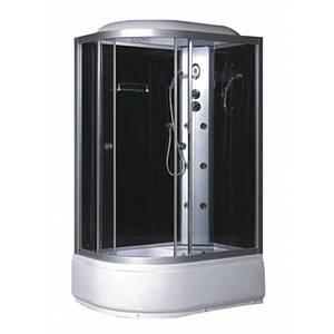 Гідромасажний бокс Sansa TMS-886/40R правий тонований 120х80х215 Китай