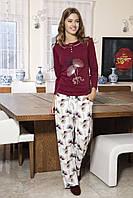 Женская пижама Shirly 5842, костюм домашний с повязкой на глаза для сна, фото 1