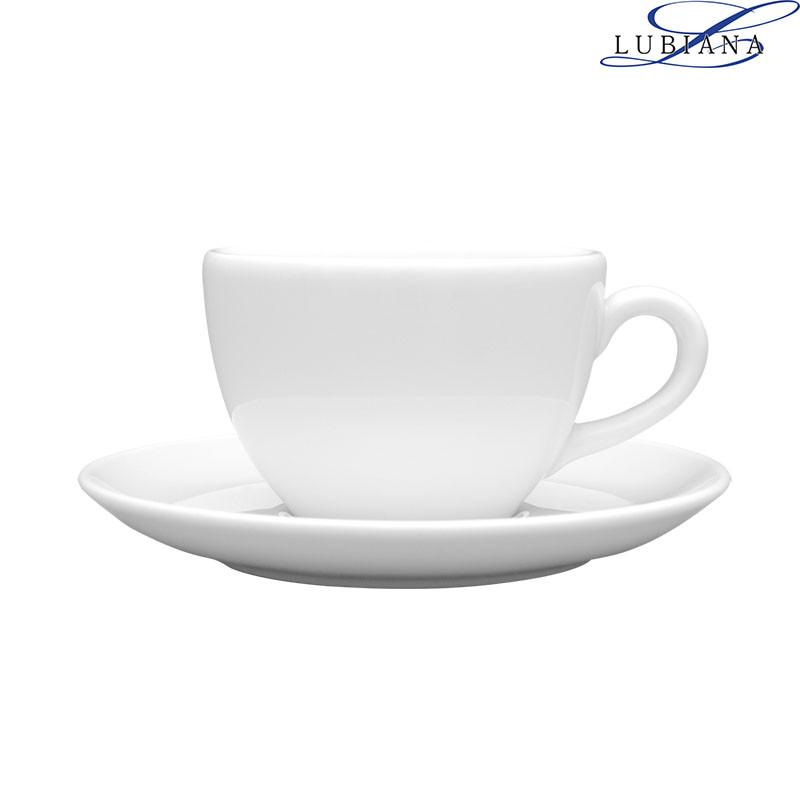 Чашка 280мл с блюдцем 160мм Aida Lubiana