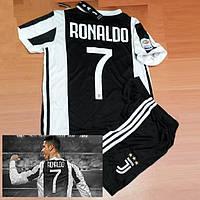 Футбольная форма ЮВЕНТУС №7 Роналдо, фото 1