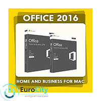 Офисное приложение Microsoft Office Home and Business 2016 for Mac (x32-x64). Электронный ключ активации - 1PC