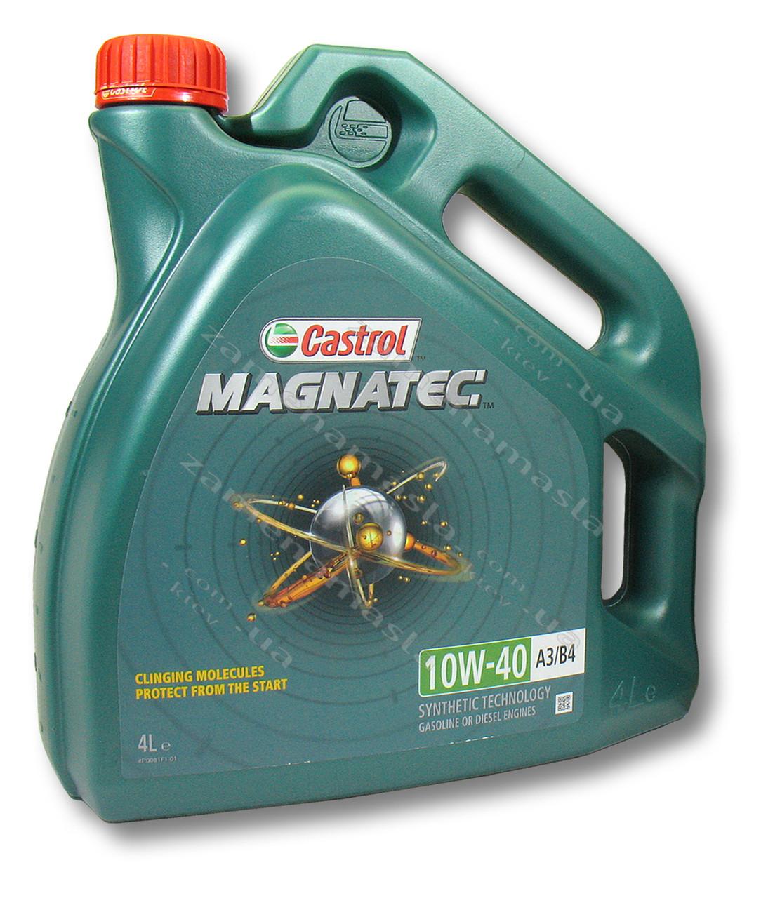 Castrol Magnatec 10W-40 A3/B4 4л- моторное масло