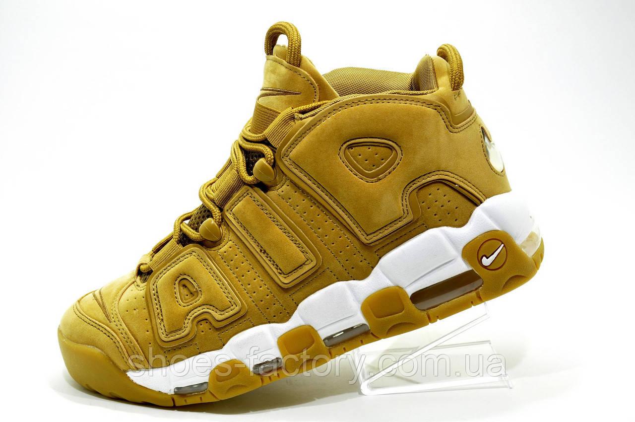 Баскетбольные кроссовки в стиле Nike Air More Uptempo 96 PRM Flax Pack, AA4060-200