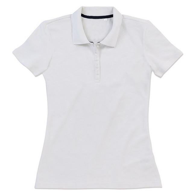 Футболка Поло 'Stedman' 'Hanna (Polo)' White