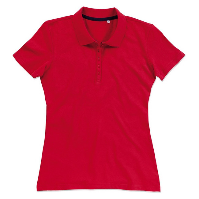 Футболка Поло 'Stedman' 'Hanna (Polo)' Сrimson Red