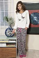 Женская пижама Shirly 5838, костюм домашний с повязкой на глаза для сна, фото 1
