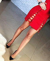 Платье со шнуровкой, размер 42,44, фото 2