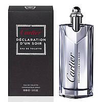 Cartier Declaration D'un Soir men 100ml Туалетная вода Оригинал
