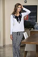 Женская пижама Shirly 5836, костюм домашний с повязкой на глаза для сна, фото 1