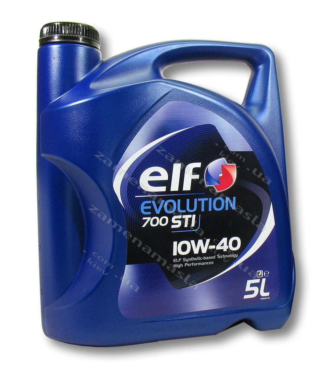 Elf Evolution 700 STI 10W40 5л - моторное масло