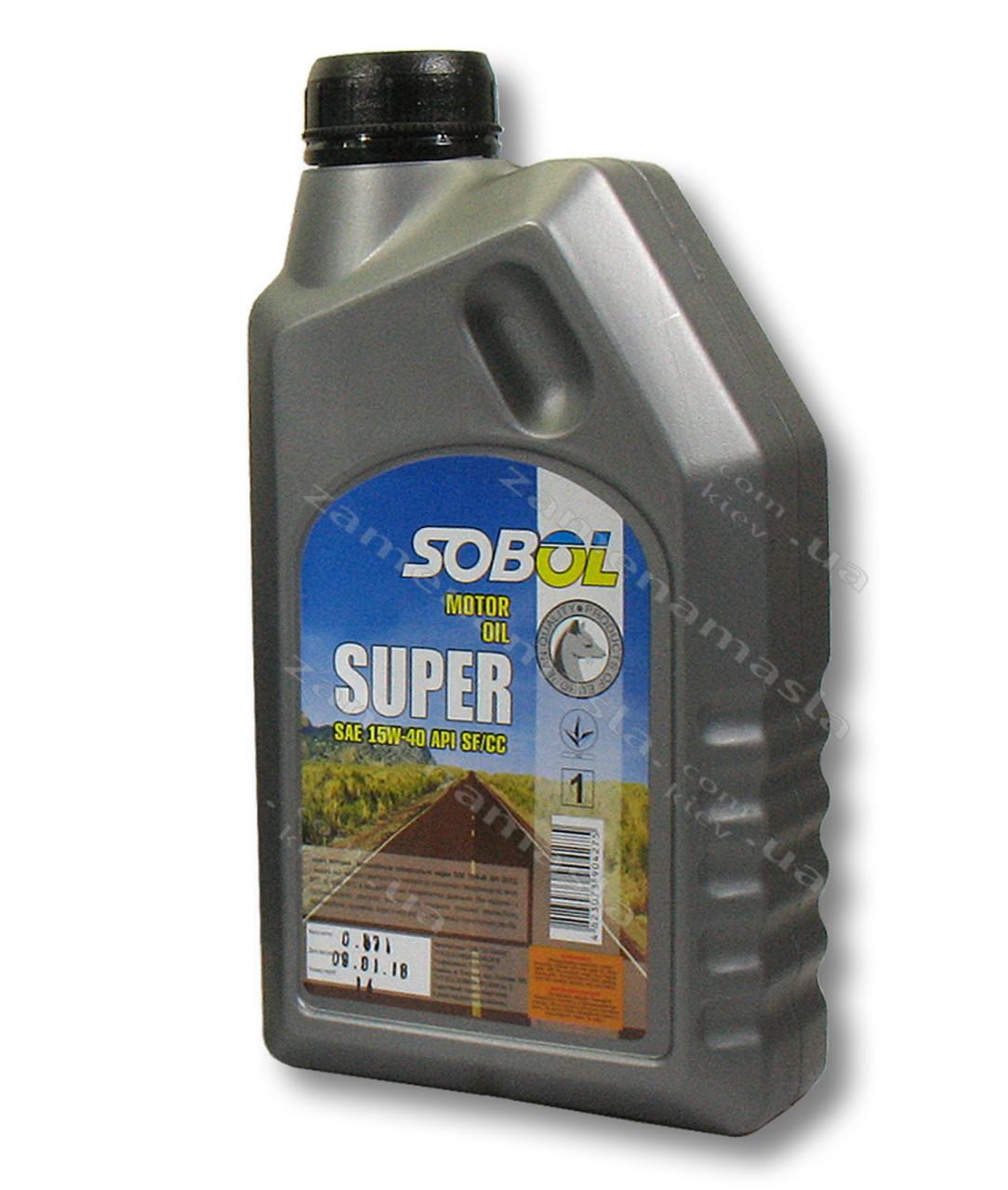 Sobol 15w40 1л - моторное масло