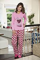 Женская пижама Shirly 5823, костюм домашний с повязкой на глаза для сна, фото 1