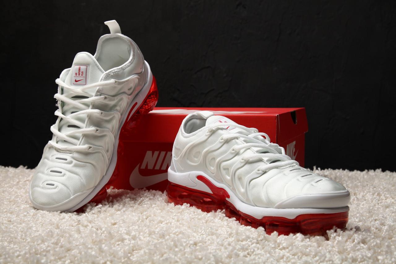 hot sale online 49cdc a0248 Мужские кроссовки Nike Air Max Tn Vapormax Plus White-Red