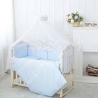 Комплект детского постельного белья Принц голубой., фото 1