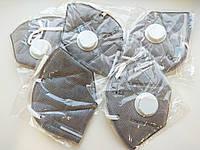 Маска-респиратор с угольным фильтром, цвет белый