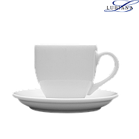 Чашка 100мл с блюдцем 110мм Ameryka Lubiana