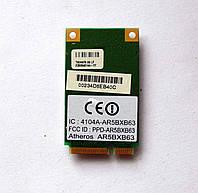 323 Wi-Fi Atheros AR5BXB63 AR5007EG 802.11 b/g Mini PCI-Express 54 Mbps модуль для ноутбука, фото 1
